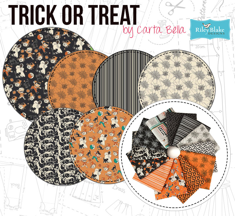 Treat Or Treat is the spooky collection you'll love!