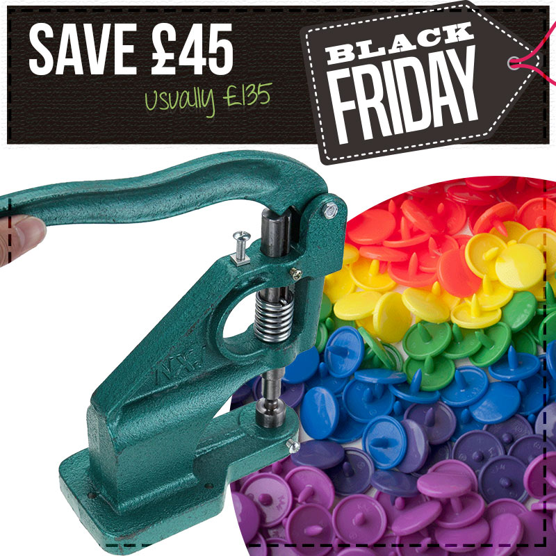 Save £45 - KAM Snaps & Press Bundle