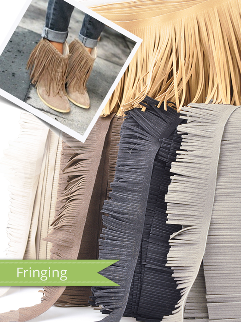 Fringing is a brilliant way to spruce up your projects!