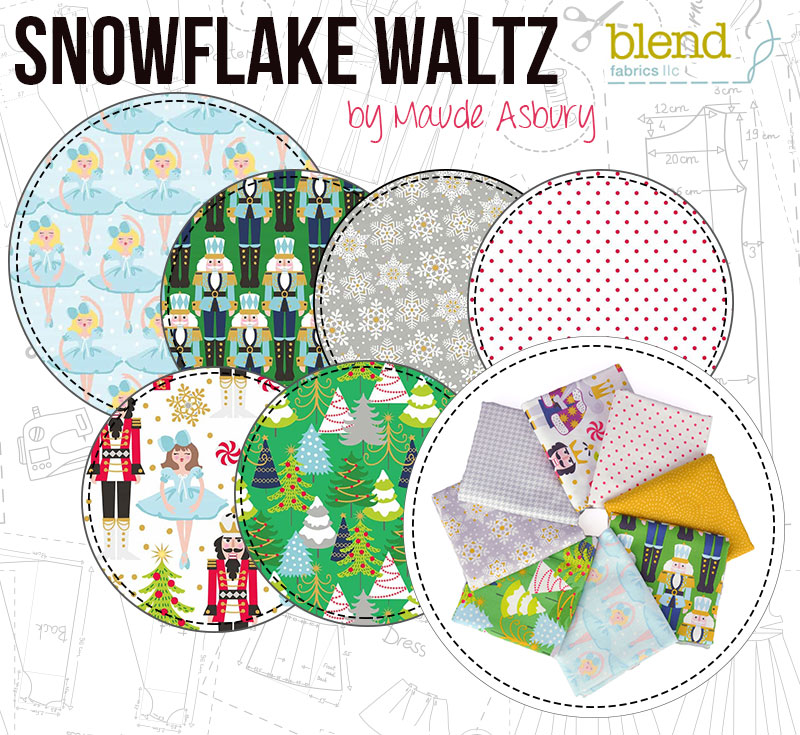 Snowflake Waltz by Maude Asbury for Blend