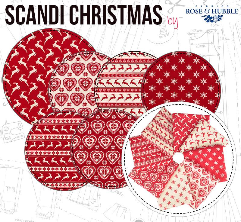 Scandi Christmas by Rose & Hubble