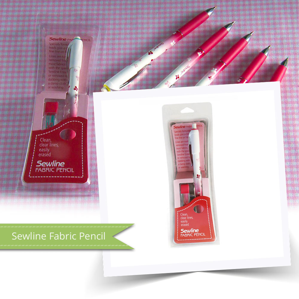 The Sewline fabric pencil is amazing. You'll wonder why you didn't have one sooner!