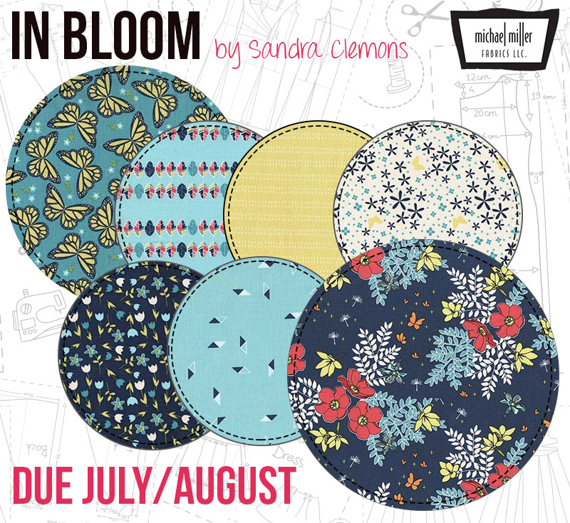 In Bloom by Sandra Clemons from Michael Miller