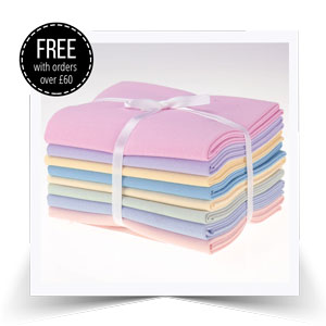 Free fat quarter bundle!