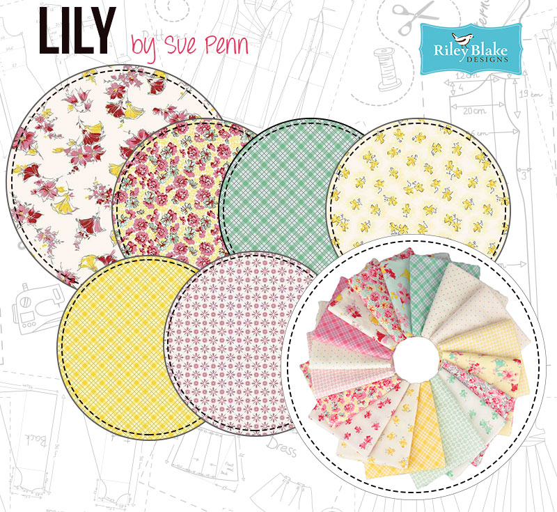 Lily is a beautiful addition to the Penny Rose collection!