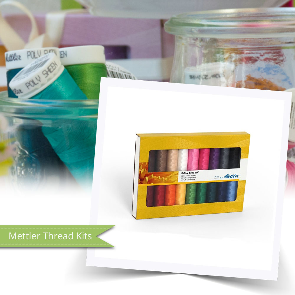 Mettler Thread Kits are perfect for those wanting to expand their collection!