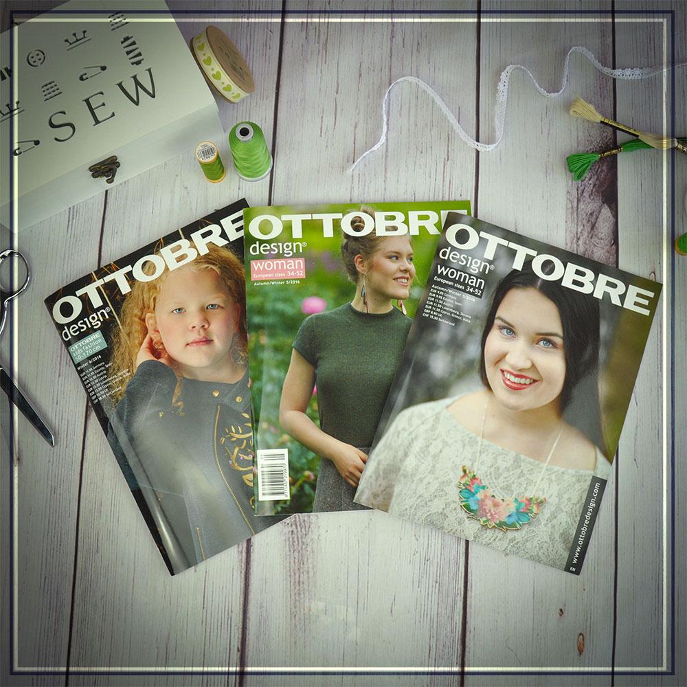 Ottobre Design Magazine is amazing value!