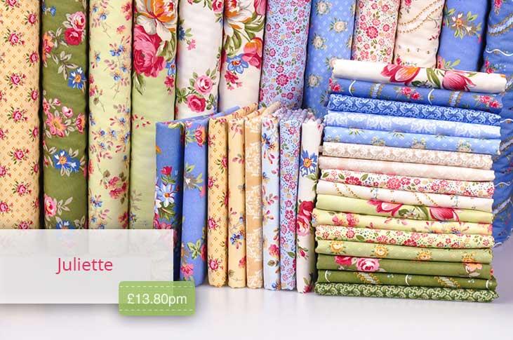 Juliette features fantastic floral patterns!