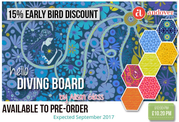 15% off Diving Board by Alison Glass