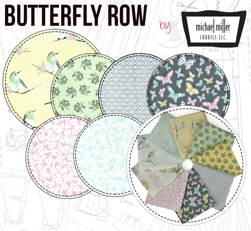Butterfly Row is an elegant collection filled with, well... Butterflies!