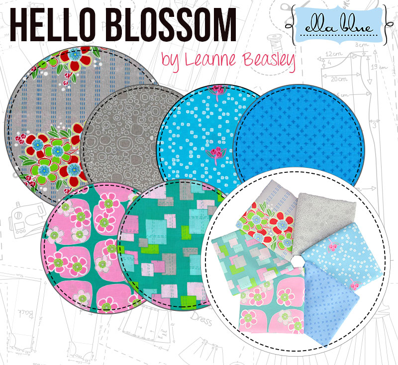 Hello Blossom by Leanne Beasley for Ella Blue