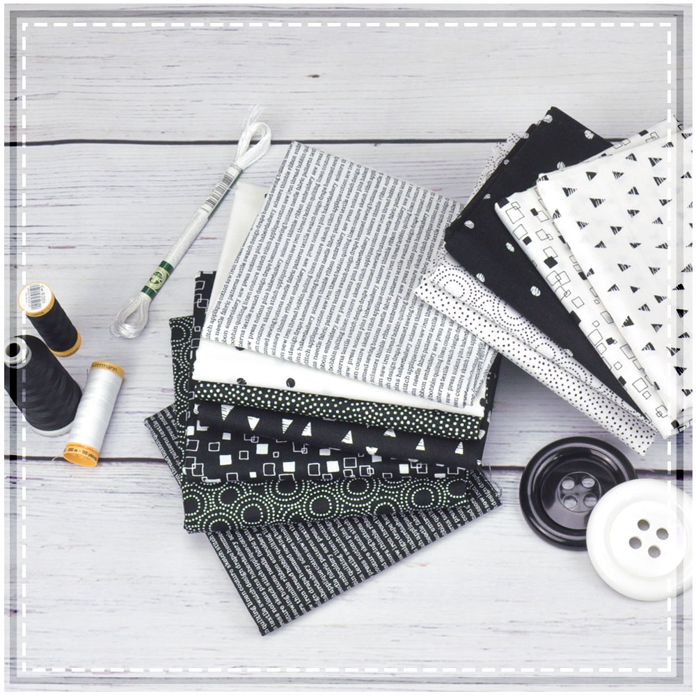 Monochrome is a lovely collection that could make fantastic blenders!