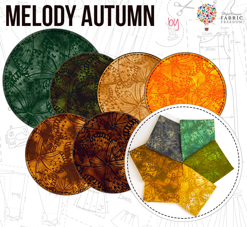 Melody Autumn by Fabric Freedom