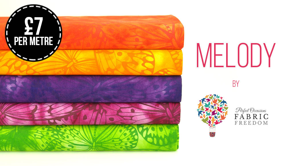 One colourway is jam packed full of vibrant colours!