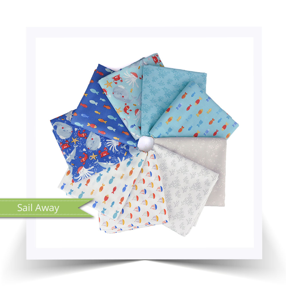 Sail Away by Anne Bollman for Clothworks