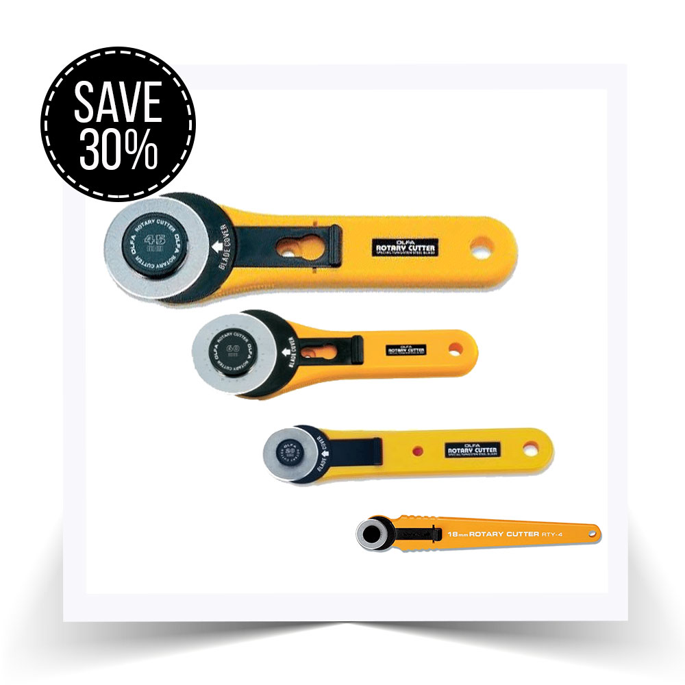 We're offering 30% off OLFA standard cutters