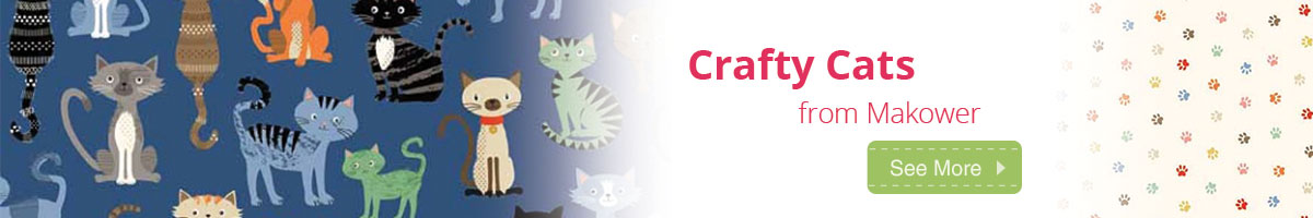 Crafty Cats From Makower