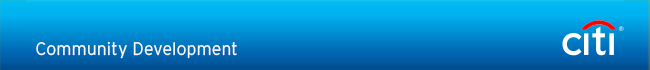 Citi Community Development Email Newsletter