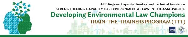 Developing Environmental Champions: Train-the-Trainers Program