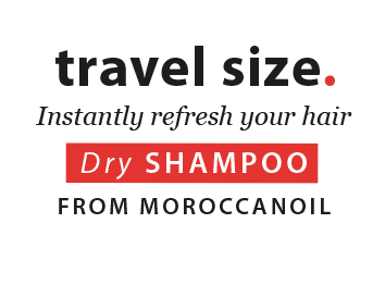 travel size. Instantly refresh your hair - dry shampoo from Moroccanoil