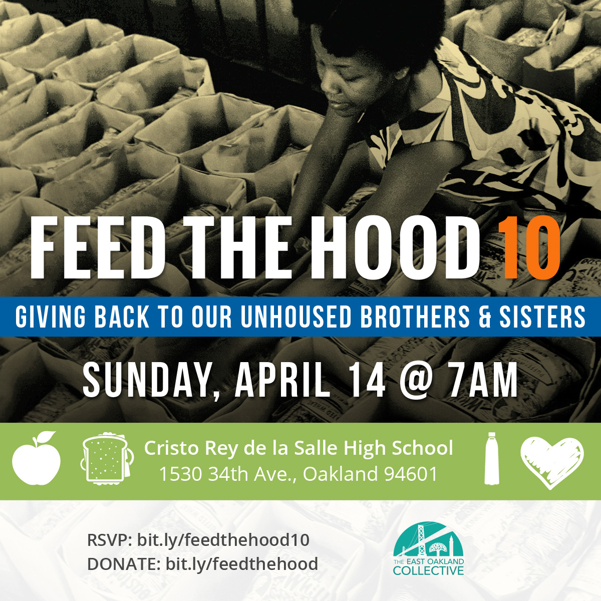 Feed The Hood @ Cristo Rey High School