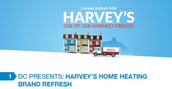 Harvey's Home Heating Brand Refresh