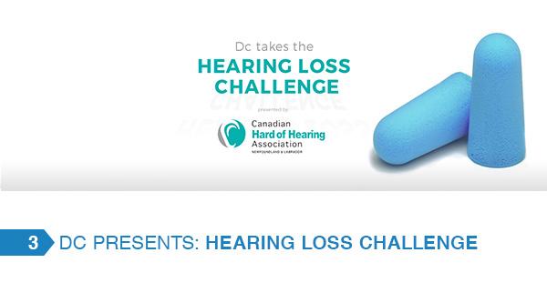 Hearing loss challenge