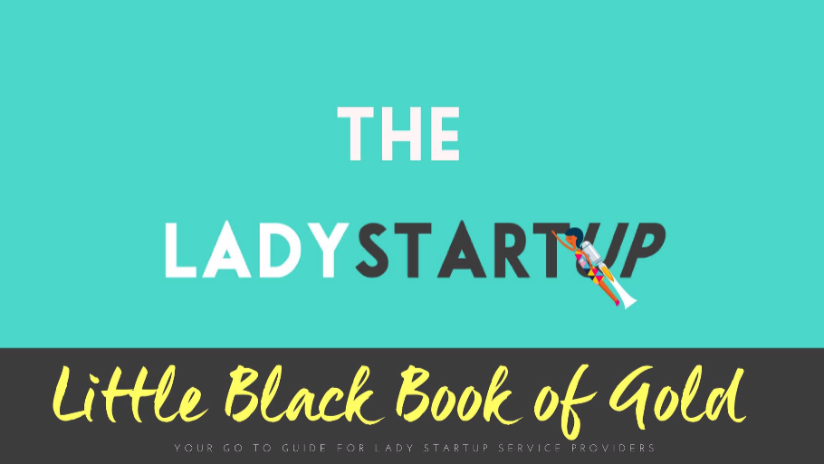 Lady Startup Little Black Book of Gold