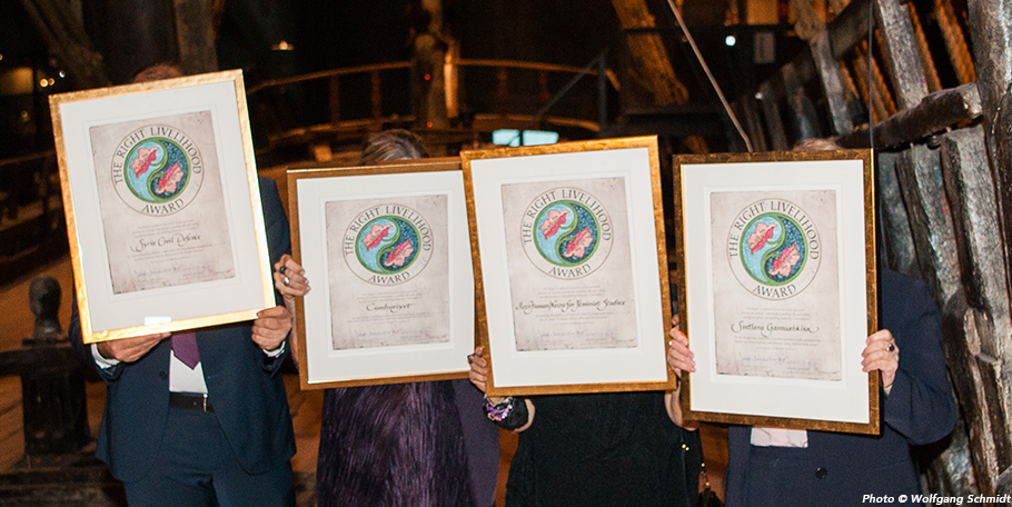 Right Livelihood Award Foundation 2016