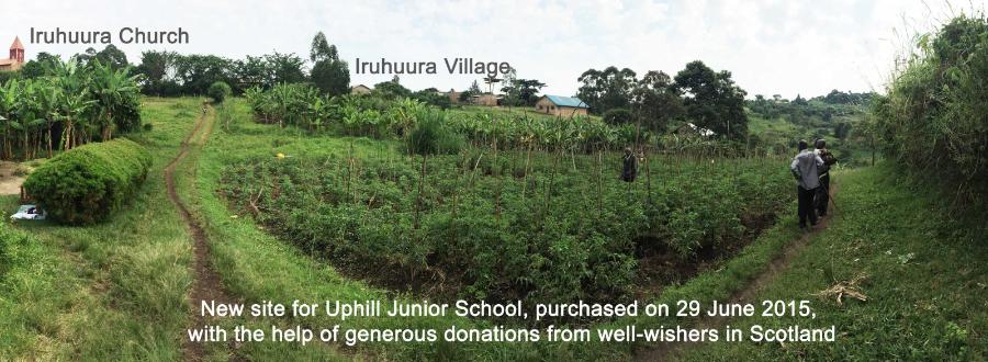 New land site for Uphill Junior School