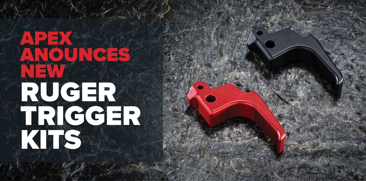 Apex Announces New Ruger Triggers Kits