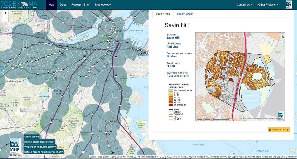 image showing screen shot of TODEX application