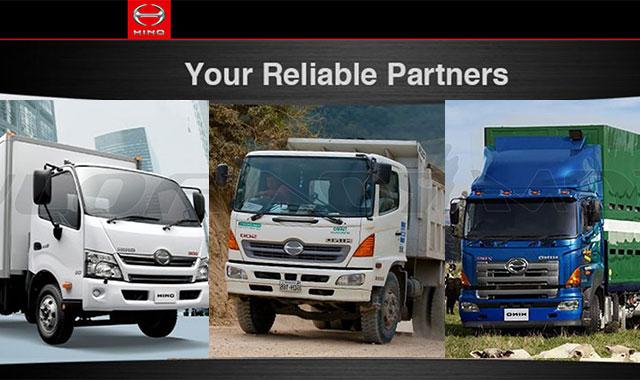Camiones Hino Toyota