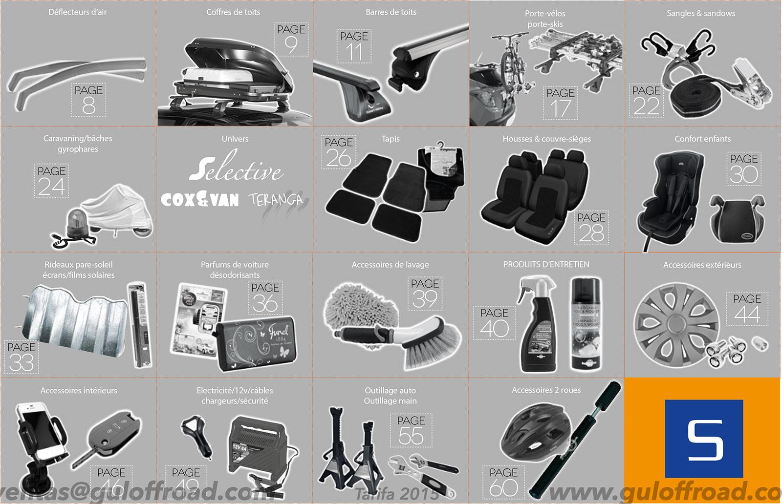 Descargar PDF Catálogo Accesorios Verano