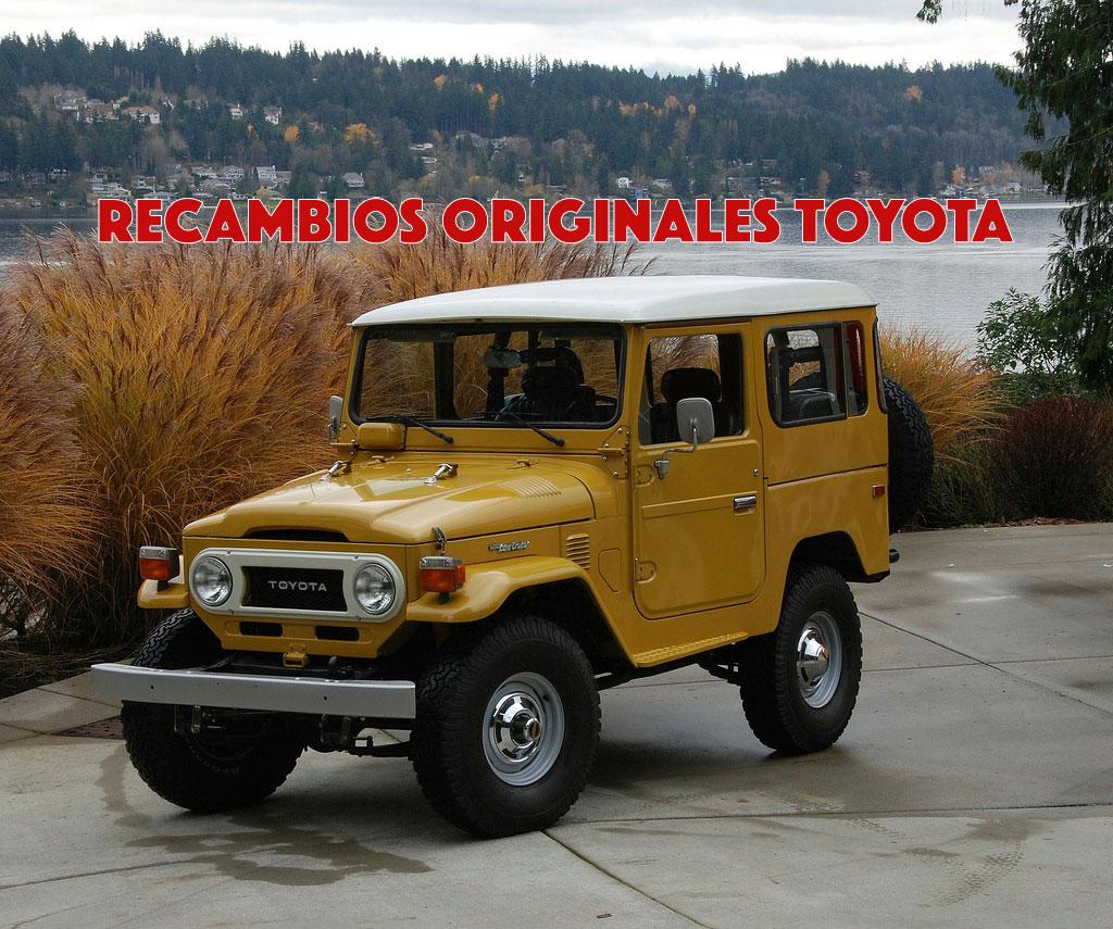 Recambios Originales Toyota