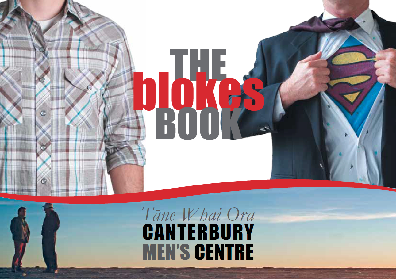 Cover of The Blokes' Book.