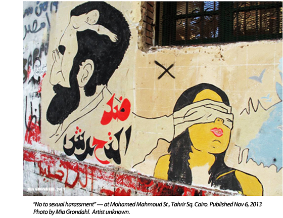 Egyptian Women Graffiti Artists: Art and Social Change