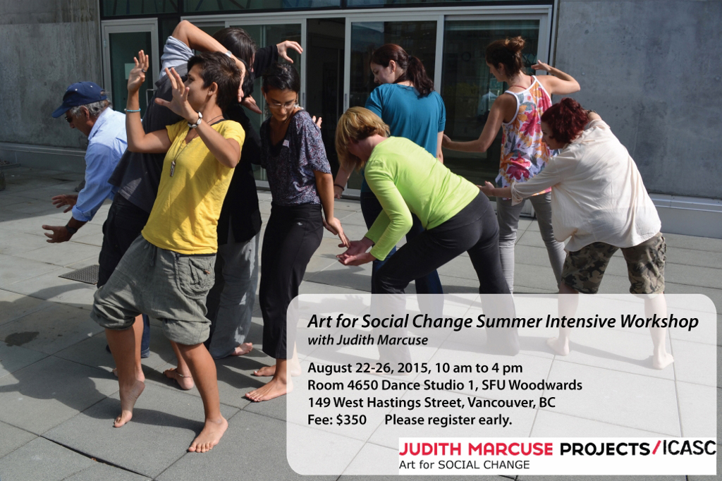 Art for Social Change Summer Intensive Workshop