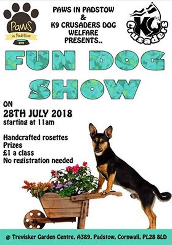 Paws in Padstow K9 Crusaders Trevisker Dog Show