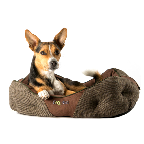 Bro dog bed brown