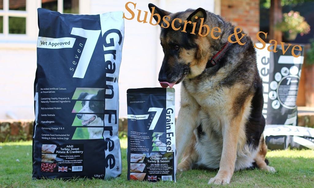 Subscribe & Save Seven 7 grain Free Dog Food