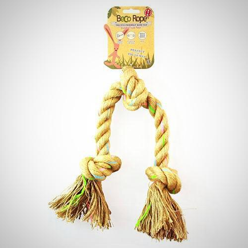 Hemp Triple Knot Rope for dogs