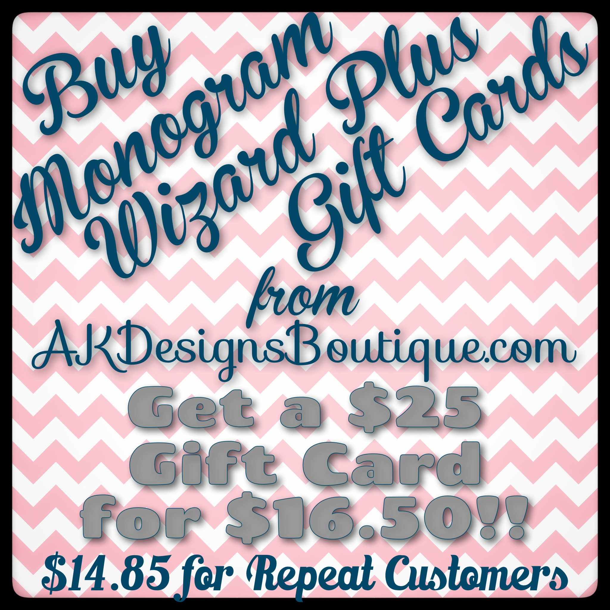Gift Card for Monogram Wizard Plus Alphabets and Motifs at Needleheads.com