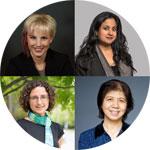 Four female professors