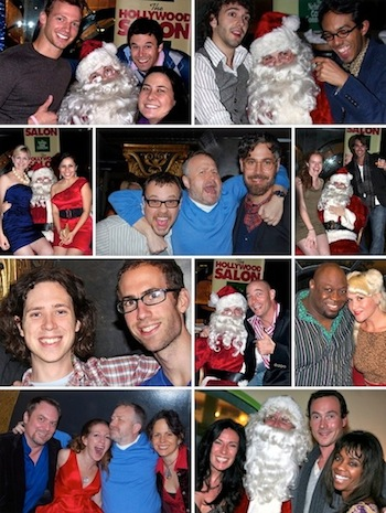 Nebraska Coast Connection Hollywood Salon Holiday Party photo