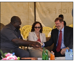 USAID Uganda Mission Director visits Winrock-implemented NUDEIL project