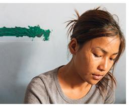 Trafficked bride rebuilds life