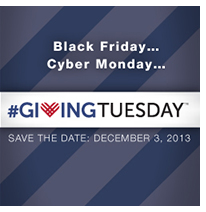 GivingTuesday save the date box