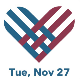 Giving Tuesday is November 27.