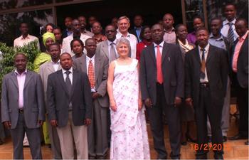 Carol with REACH participants